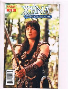 Xena Warrior Princess # 4 NM 1st Print Photo Cover Variant Dynamite Comics J110