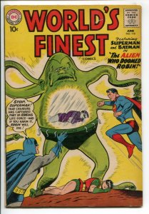 WORLD'S FINEST (1941 DC) #110 FN+ NM