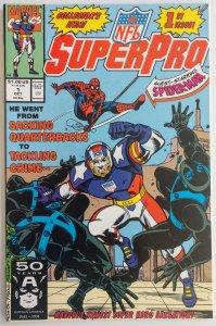 NFL Superpro #1 (NM)(1991)