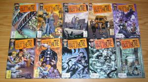 Out There #1-18 VF/NM complete series  brian augustyn/humberto ramos cliffhanger