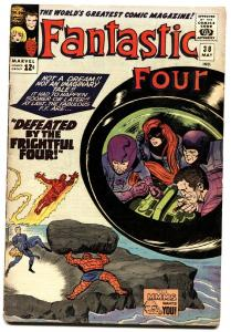 FANTASTIC FOUR #38 1965-MARVEL-SILVER-AGE-JACK KIRBY.