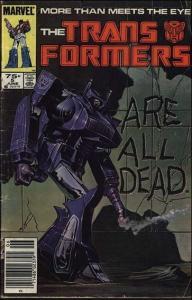 Marvel THE TRANSFORMERS (1984 Series) #5 VF/NM