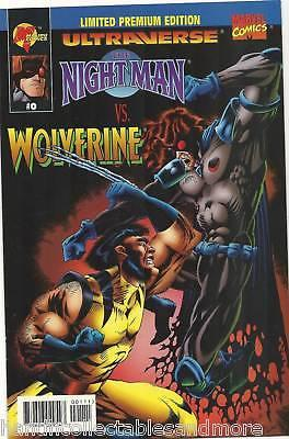 NIGHTMAN  vs WOLVERINE comic #0  VERY RARE limited edition   MARVEL