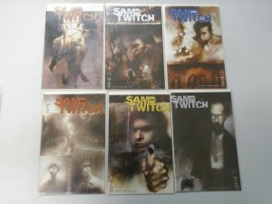 Sam and Twitch run #1-19 missing #14 8.0 VF (1999-2001 Image)