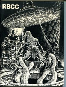 Rocket's Blast & Comic Collector #119 1975-original fanzine-Zeck-Star Trek-VF