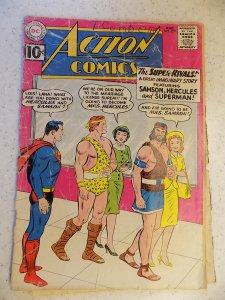 ACTION COMICS # 279 DC SUPERMAN ADVENTURE LOW GRADE READER COPY