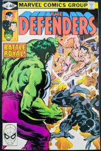 The Defenders #84. Namor vs Black Panther! HUGE MCU KEY! High Grade Book!
