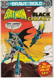 Brave and the Bold, The #107 (Jul-73) NM- High-Grade Batman, Black Canary