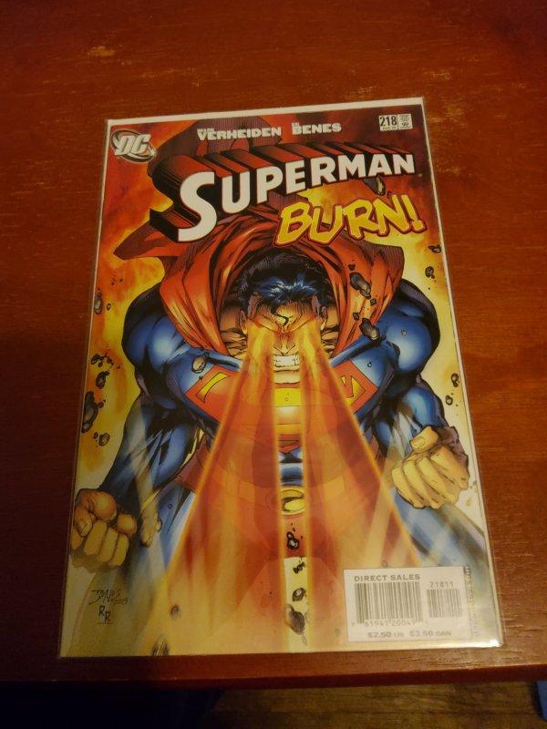 Superman  #218 (2006)