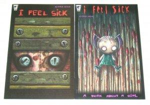 I Feel Sick #1-2 VF/NM complete series - jhonen vasquez - rare 1st printing set