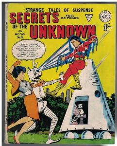 SECRETS OF THE UNKNOWN 104 GD- UK reprints 1962?