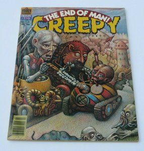 Creepy #116 FN/VF 1980 Warren Horror Magazine Weird Strange The End of Man Crazy