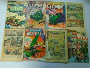 Silver + Bronze age DC War comics reader lot 47 different issues