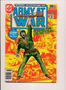 ARMY AT WAR #1 ~ DC Comics 1978 ~ F/VF (HX477)