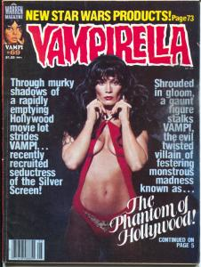 Vampirella #69 1978-Warren-Barbara Leigh photo cover-spicy art-VG