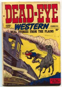 Dead-Eye Western #10 1950-Golden Age VG/F