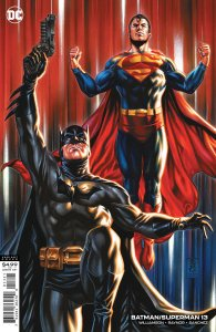 BATMAN SUPERMAN #13 CVR B MARK BROOKS CARD STOCK VARIANT
