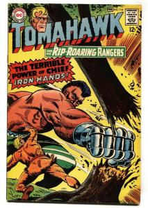 Tomahawk #114 1967-DC-Rangers appear-glossy cover-VF