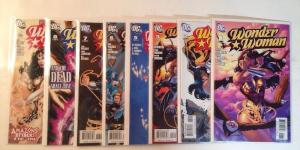 Wonder Woman 1-3 5-9 Near Mint Lot Set Run 2006 Dodson