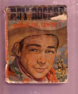 ROY ROGERS 1943-KING OF THE COWBOYS #1476-BIG LITTLE BK FR