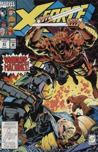 X-Force #21 VF/NM; Marvel   save on shipping - details inside