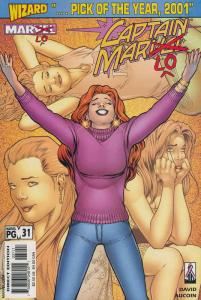 Captain Marvel (5th Series) #31 VF/NM; Marvel | save on shipping - details insid