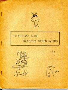 Neo-Fan's Guide To Science Fiction Fandom 1966-2nd Print of 1st Edition-FN