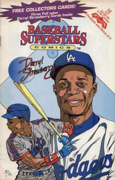 Baseball Superstars Comics #10 FN; Revolutionary | save on shipping - details in