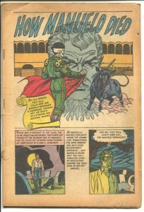 Web of Mystery #23 1954-Ace-pre code horror-The Oozing Horror-witch doctor-P
