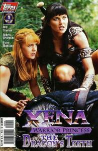 Xena: Warrior Princess—The Dragon's Teeth #1SC VF/NM; Topps | save on shipping -