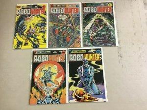Robo Hunter set #1-5 8.0 VF (1984 Eagle)