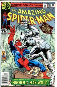 AMAZING SPIDER-MAN #190-1979-MARVEL VF/NM
