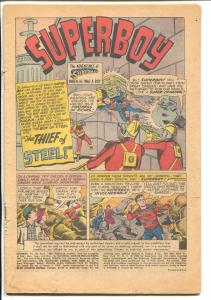 Superboy #80 1960-DC-1st Supergirl in this series-P