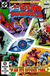 DC Comics All-Star Squadron #10 VF+