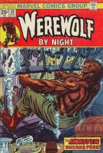Werewolf By Night (1972 series) #20, VF- (Stock photo)