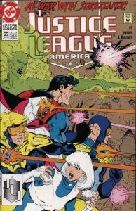 Justice League (1987 series) #65, NM (Stock photo)
