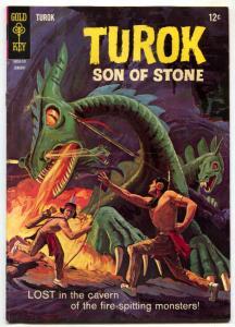 Turok, Son Of Stone #55 1967- Gold Key FN