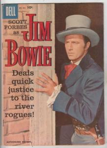 Four Color #893 (Apr-58) VF/NM High-Grade Jim Bowie
