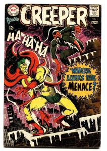 BEWARE THE CREEPER #1 comic book-DITKO Silver Age First Issue