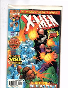 Marvel Comics X-men #66 1st Appearance Dr. Cecilia Reyes