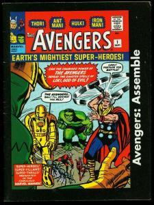 Avengers Assemble #1 2005- Canadian Avengers #1 reprint Rare FN