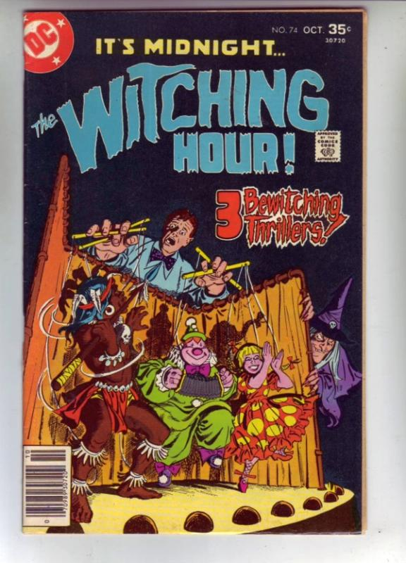 It's 12 O'Clock.. the Witching Hour #74 (Oct-77) VF/NM High-Grade