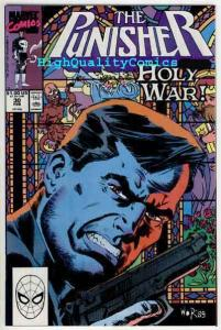 PUNISHER #30, Holy War,Confession, Mike Baron,1987, NM+  , Bill Reinhold