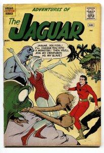 ADVENTURES OF THE JAGUAR #3 1961-LAST 10 CENT ISSUE vg