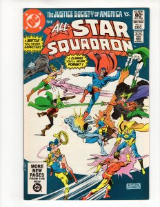 ALL-STAR SQUADRON #4 (VF/NM) *$3.99 Unlimited Shipping!*