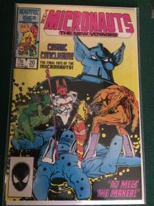 The Micronauts : The New Voyages #20