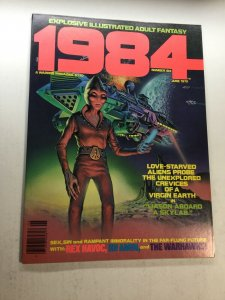 1984 Magazine 6 Nm Near Mint Warren