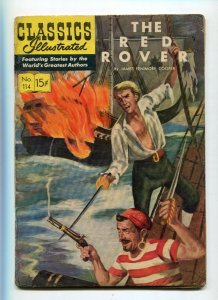 Classics Illustrated  114 VG-/VG The Red Rover