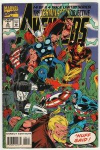 Avengers Terminatrix Objective #4 (Marvel, 1993) VG