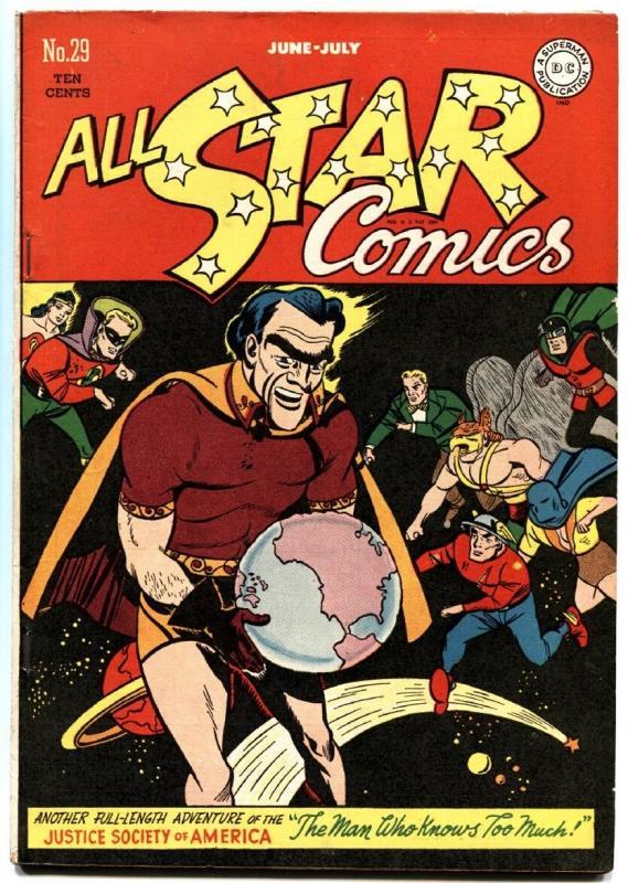 All Star Comics #29 1946 Justice Society  Green Lantern  Wonder Woman